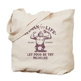 Vegan for Life Tote Bag