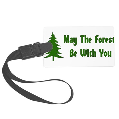 forest01x.png Large Luggage Tag