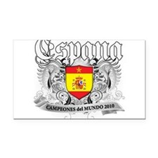 2010 spain champions.png Rectangle Car Magnet