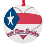 Puerto Rican Sweetheart Ornament