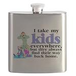 I Take My Kids Everywhere Flask
