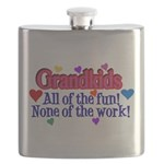 Grandkids - All the fun! Flask