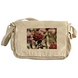 Inspired Red Roses Messenger Bag