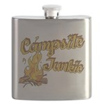 Campsite Junkie Flask