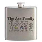 The Ass Family Flask