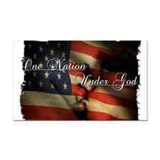Land of the free Rectangle Car Magnet