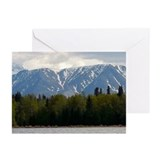 Mountains card Greeting Cards (Pk of 10)