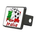forza italia.png Rectangular Hitch Cover