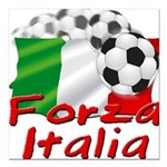forza italia.png Square Car Magnet 3