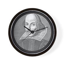 Wacky Shakespeare Wall Clock
