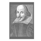 Wacky Shakespeare Postcards (Package of 8)