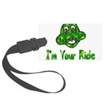 ride_frog01.png Large Luggage Tag