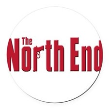 The north End.png Round Car Magnet