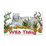 wildthing01a.png Rectangle Car Magnet