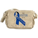 My Sister is a Survivor Messenger Bag