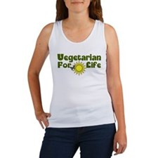 Vegetarian For Life Women's Tank Top