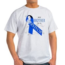 My Brother is a Survivor (blue) T-Shirt