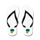 Super Broccoli Flip Flops