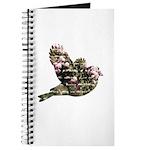 Inspired Pink Roses Bird Journal