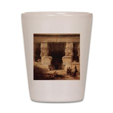 Dendera Temple Shot Glass