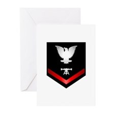 Navy PO3 Fire Control Technician Greeting Cards (P