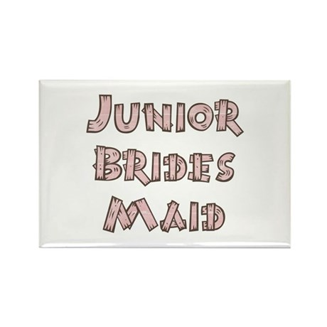 Country Junior Bridesmaid Rectangle Magnet (10 pac