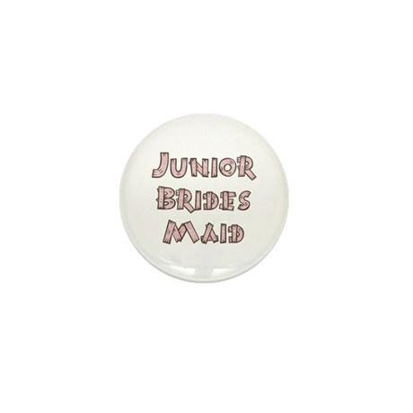 Country Junior Bridesmaid Mini Button (10 pack)