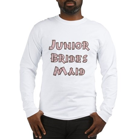 Country Junior Bridesmaid Long Sleeve T-Shirt