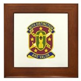 DUI - 71st Ordnance Group Framed Tile