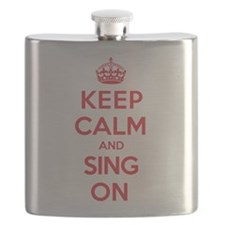 Keep Calm Sing Flask