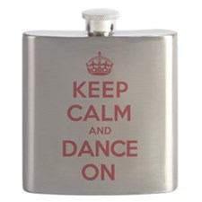 Keep Calm Dance Flask