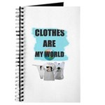 CLOTHES ARE MY WORLD Journal