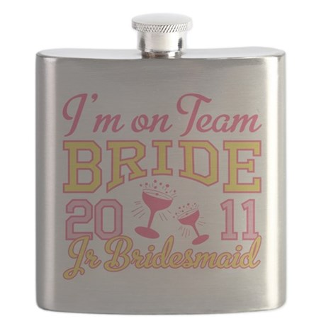 Champagne Jr Bridesmaid Flask
