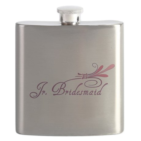 jr bridesmaid1 hat.png Flask