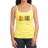 Certified Rainbow Bar Code Ladies Top