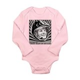 Yuri Gagarin Long Sleeve Infant Bodysuit
