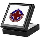 DUI - Fort Carson DENTAC Keepsake Box