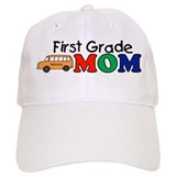 First Grade Mom Baseball Cap