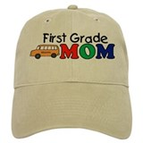 First Grade Mom Cap