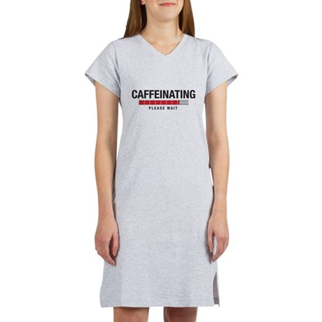 Caffeinating Women's Nightshirt