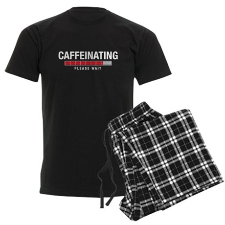 Caffeinating Men's Dark Pajamas
