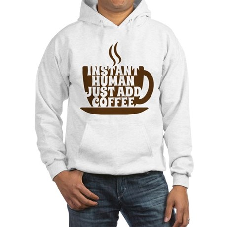 instant human Hooded Sweatshirt
