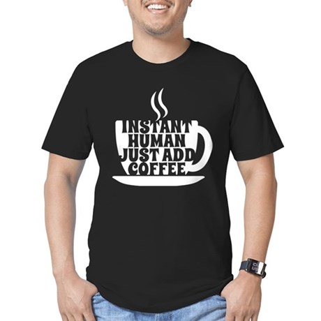 instant human Men's Fitted T-Shirt (dark)