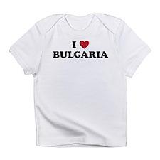 I Love Bulgaria Infant T-Shirt