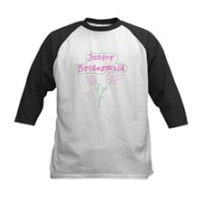 Flowers Junior Bridesmaid Tee