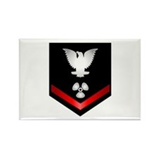 Navy PO3 Machinist's Mate Rectangle Magnet