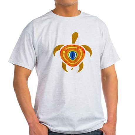 Orange Eye Turtle Light T-Shirt