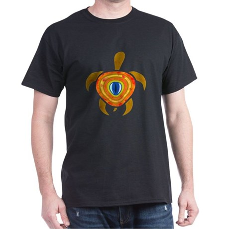Orange Eye Turtle Dark T-Shirt