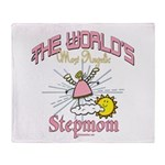 Angelic Stepmom Throw Blanket