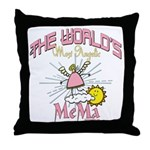 Angelic Mema Throw Pillow